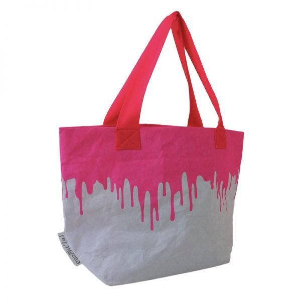 pink fluo mini-saccoborsa