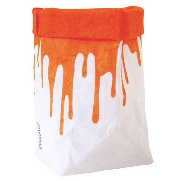 Il sacchino F orange fluo
