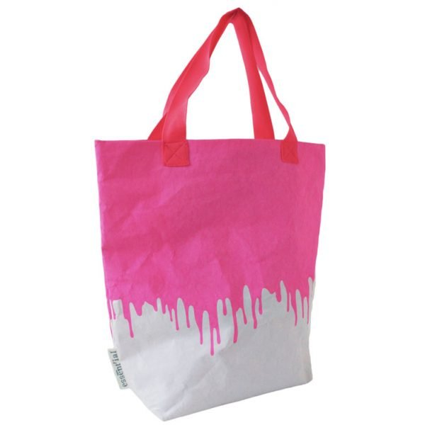 pink fluo sacco borsa