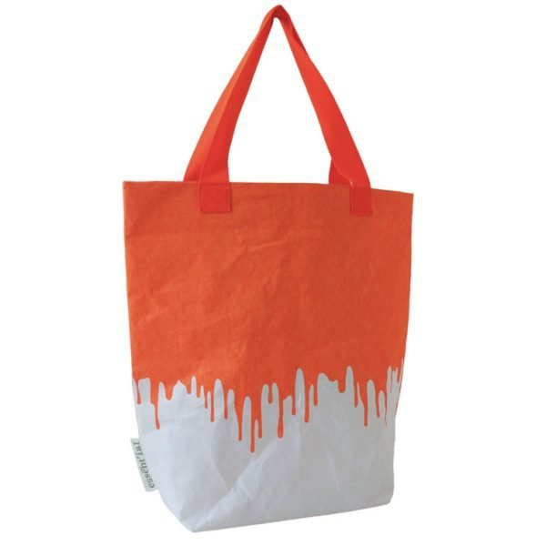 orange fluo sacco borsa