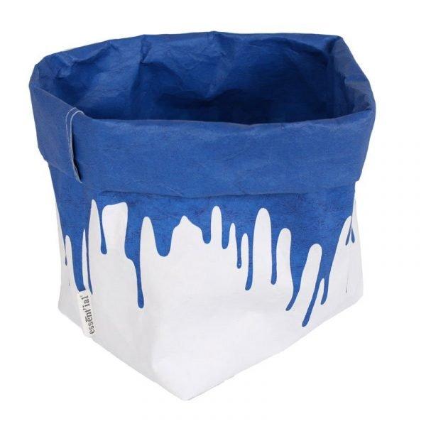 Il sacchetto blu fluo