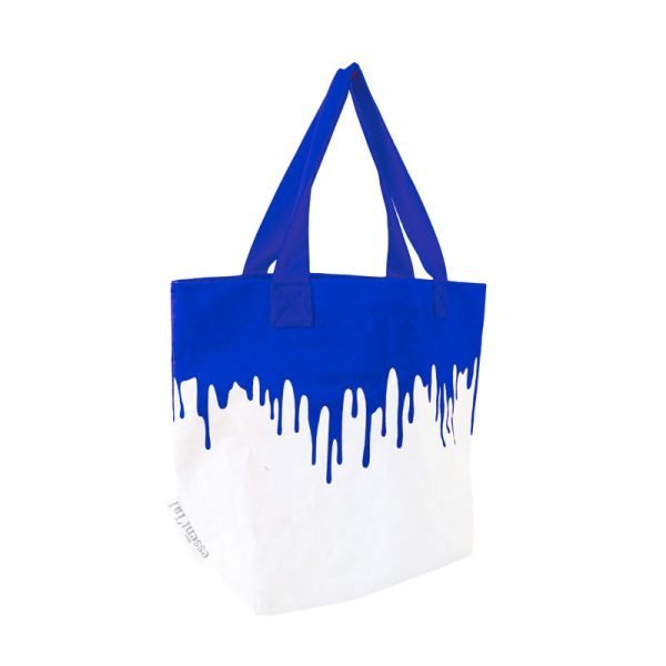 blu fluo sacco borsa