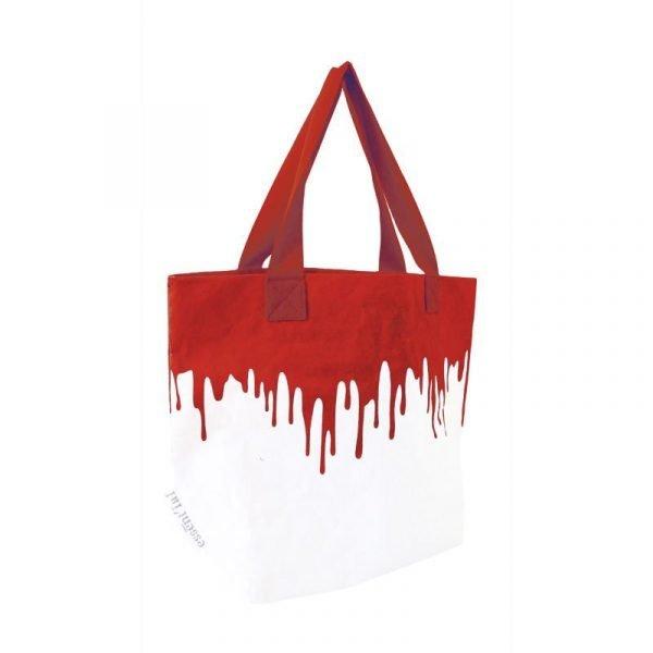 red fluo sacco borsa