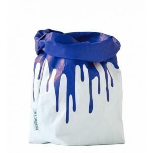 il sacchino F blu fluo