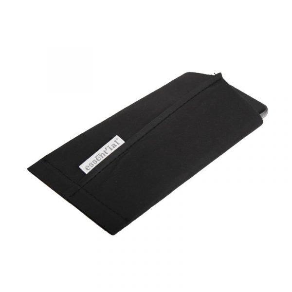 porta smartphone nero
