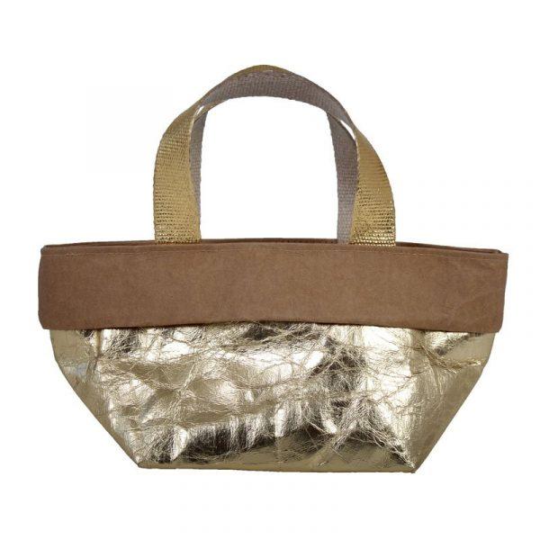 sacchetto bag oro e avana