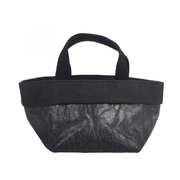 sacchetto bag nero glossy
