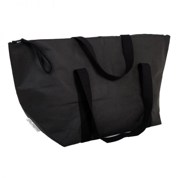borsa size xxxl nero in carta lavabile