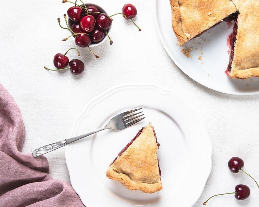 Crostata vegan alle ciliegie (croccante!)