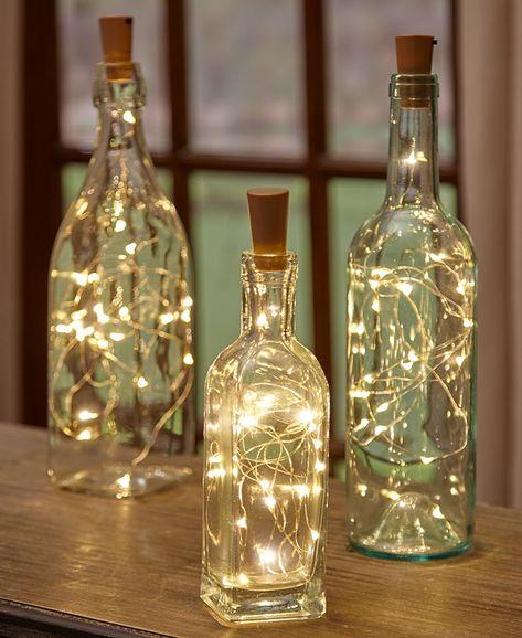 Riciclo creativo delle bottiglie di vetro