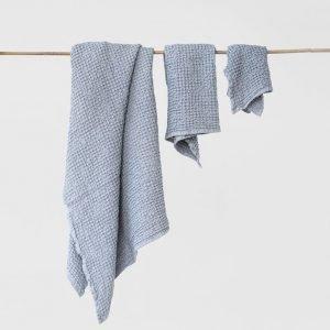 set-asciugamani-nido-d'ape-grigio-chiaro